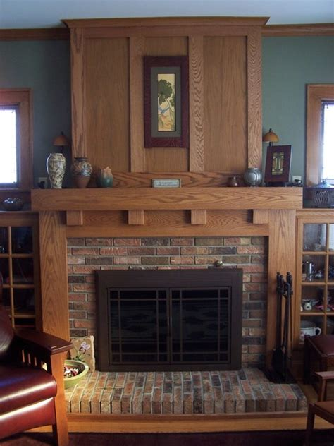 Fireplace mantels craftsman fireplace mantels other metro by