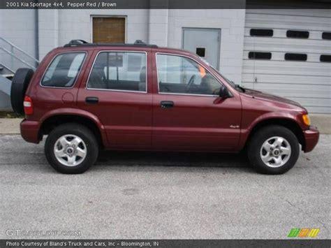 Which Kia Sportage Is 4x4 2001 Kia Sportage 4x4 In Pepper Photo No 19963358