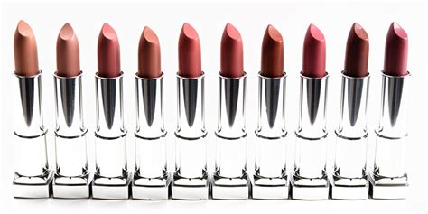 Maybelline Inti Matte Lipstick sneak peek maybelline color sensational inti matte