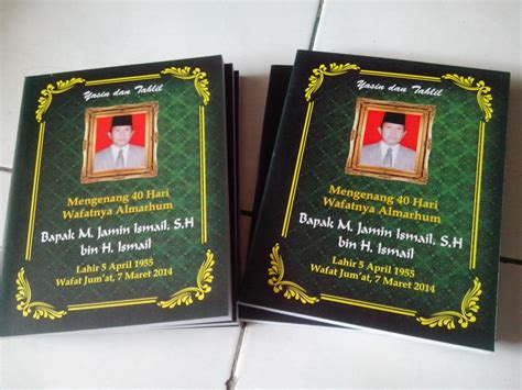 format cetak buku yasin cetak buku yasin portal k9866