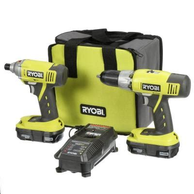 ryobi one 18 volt lithium ion drill driver and impact