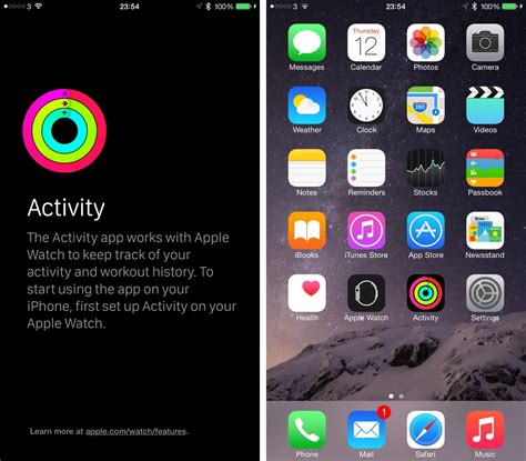 iphone screenshot a closer look at apple s activity companion app for iphone