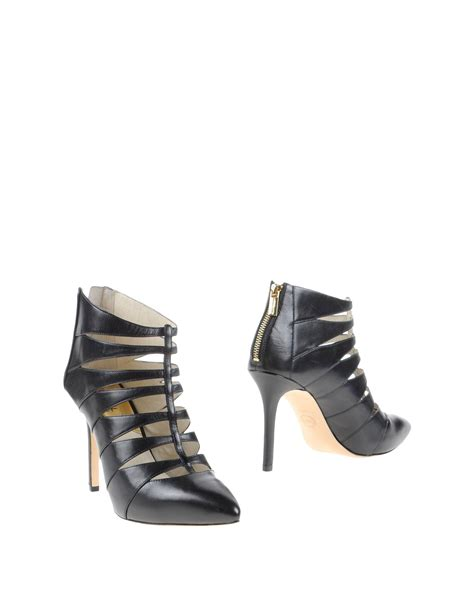 kors shoes michael michael kors ankle boots in black lyst