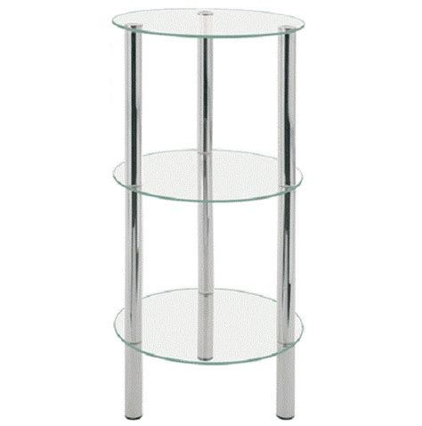 2 tier corner occasional table 90245 display stands