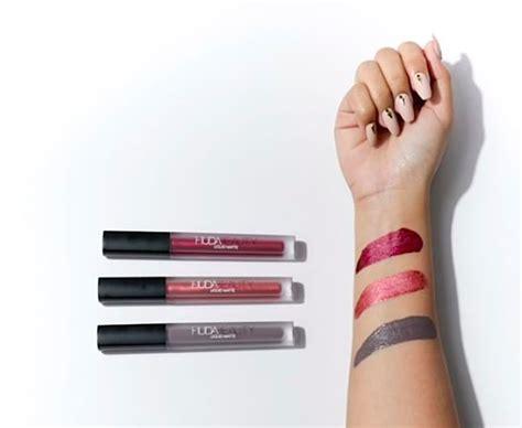 Huda Lipstick New Colour huda s new liquid matte lipstick swatches are beyond stunning
