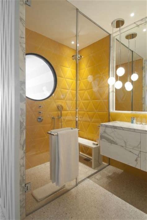 majestic bathroom design with marble vanity dark orange 17 best ideas about yellow tile on pinterest geometric
