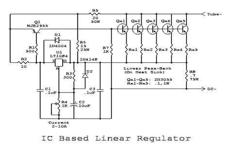 high current voltage regulator transistor lm317 schematic lm317 free engine image for user manual