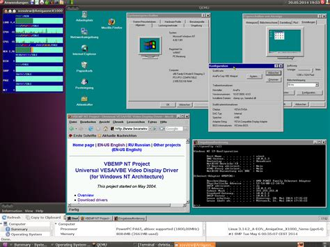 how to install qemu ubuntu ppc windows on a powerpc ubuntu using qemu