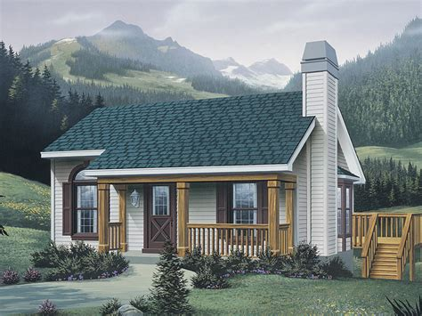 vacation cottage plans woodsmill vacation cabin home plan 007d 0042 house plans and more