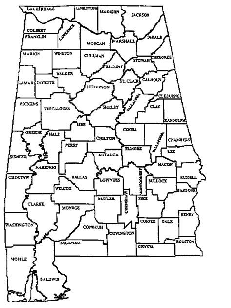 Marshall County Probate Office by 31 Luxury State Of Alabama Map With Counties Swimnova