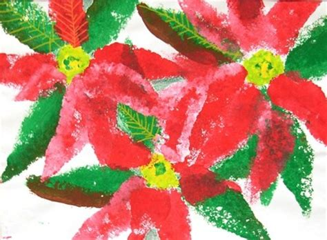 poinsettia craft projects 94 best lessons images on