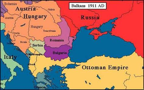 World War I Centennial Balkan Secrets Mental Floss Ottoman Empire Balkans