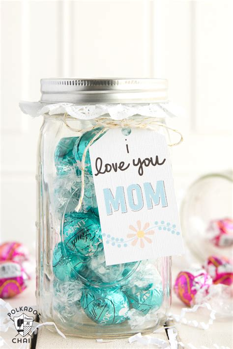 Good Gift Card Ideas For Mom - last minute mother s day gift ideas cute mason jar gifts