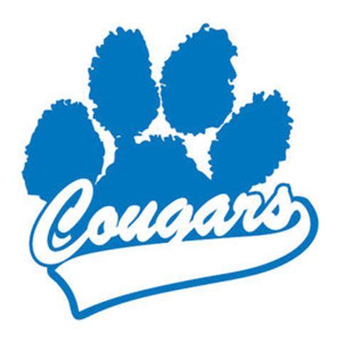 cougar paw prints clipart best