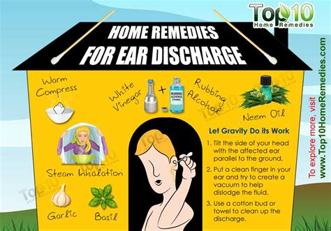 home remedies for ear discharge top 10 home remedies