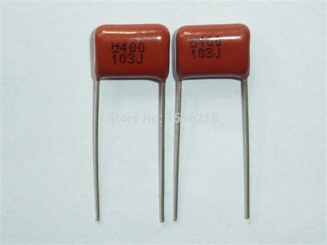 10pcs cbb capacitor 103 400v 103j 0 01uf 10nf p10 cl21 metallized polypropylene capacitor