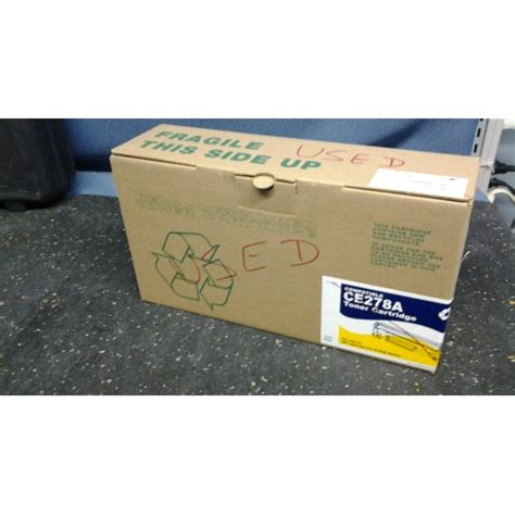 Cartridge Toner Compatible Remanufacture Hp Ce278a remanufactured compatible ce278a toner cartridge allsold ca buy sell used office furniture