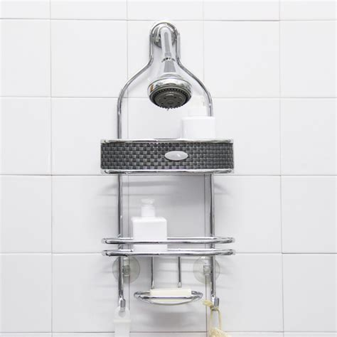 Shower Cady by Samsonite Chrome Steel Shower Caddy