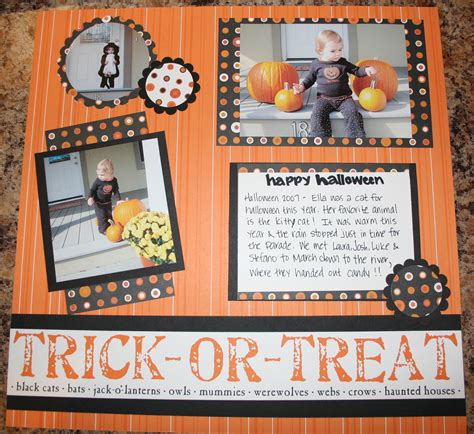 layout for scrapbook more scrapbook pages halloween creative cucina