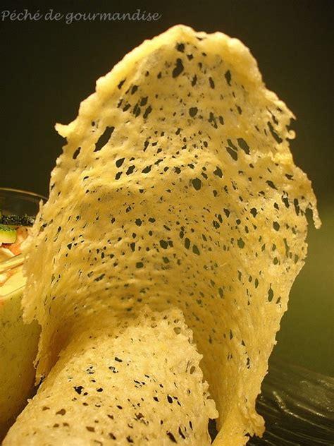 Tuile Parmesan Poele by Velout 233 Froid De Courgettes 224 L Italienne Et Tuiles Au