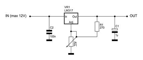 alimentatore con lm317 schema caricabatterie con lm317 fare di una mosca