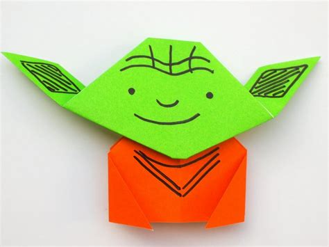 For Origami Yoda - easy origami yoda tutorial pink stripey socks