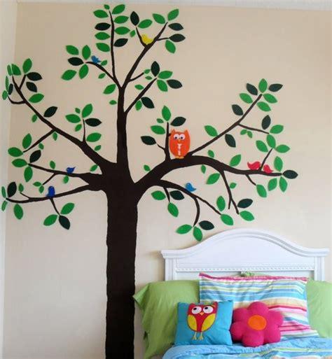 Wandtattoo Kinderzimmer Selber Malen by Kinderzimmer Baum Malen