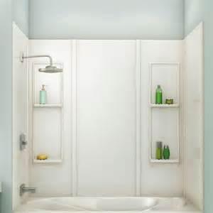 maax 174 elan 5 acrylic tub wall kit at menards 174