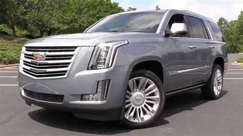 Make Up Escaladi 2016 Cadillac Escalade Platinum Start Up Road Test In