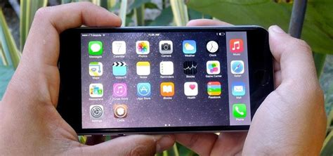 Landscape Mode Iphone Get The Iphone 6 Plus Resolution Home Screen Landscape
