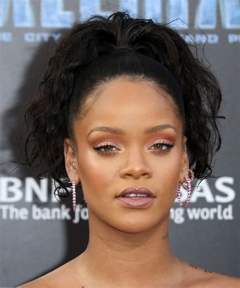 rihanna updo hairstyles rihanna hairstyles for 2018 hairstyles by