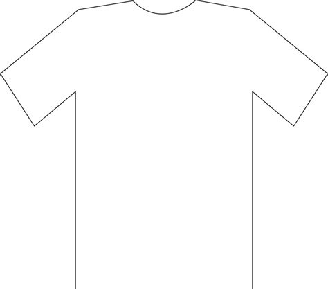 soccer shirt template t shirt sketch clipart best