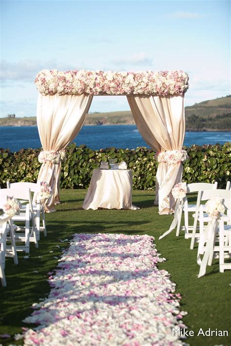 wedding awning pink and white canopy by karen tran