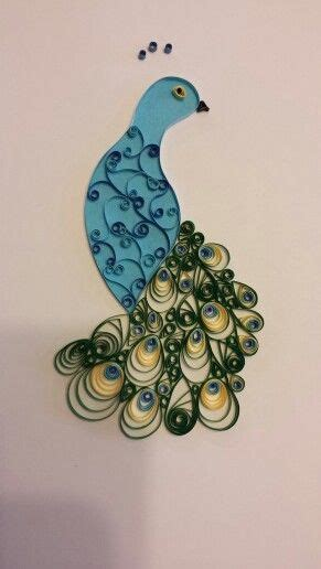 How To Make Paper Quilling Peacock - 1000 images about quilling peacock on paper