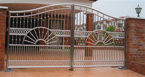 Lu Dinding Minimalis Kayu Stainless 70 desain pagar rumah minimalis kayu dan besi pintu pagar rumah sliding house