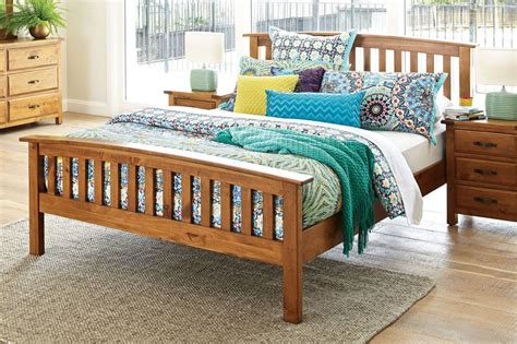 Monterey Queen Bed Frame By Debonaire Furniture Harvey Bed Frames Harvey Norman