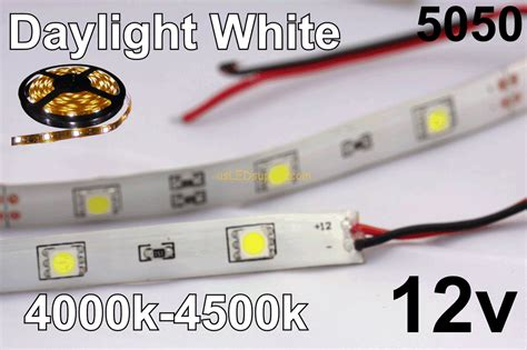 12v amber led light strips 12v daylight white flexible led strip ip 65 30 m 150