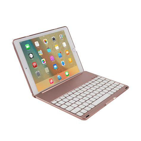 Keyboard For Pro 9 7 for pro 9 7 quot folio 7 colors backlit bluetooth