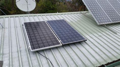 living on one solar panel solar panel angle living the edge