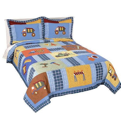 full size comforter for boy quilt sets bedspreads and construction on pinterest