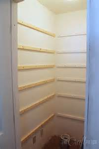kitchen in a closet how to build pantry shelves hometalk