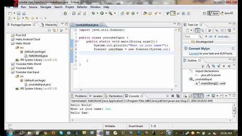 java tutorial keyboard input java tutorial 4 getting user input from the console
