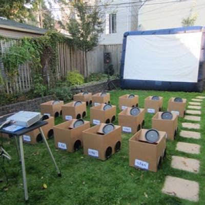 Home Decor Games Online For Adults by Backyard Drive In Movie Summer Party Themes Tip Junkie