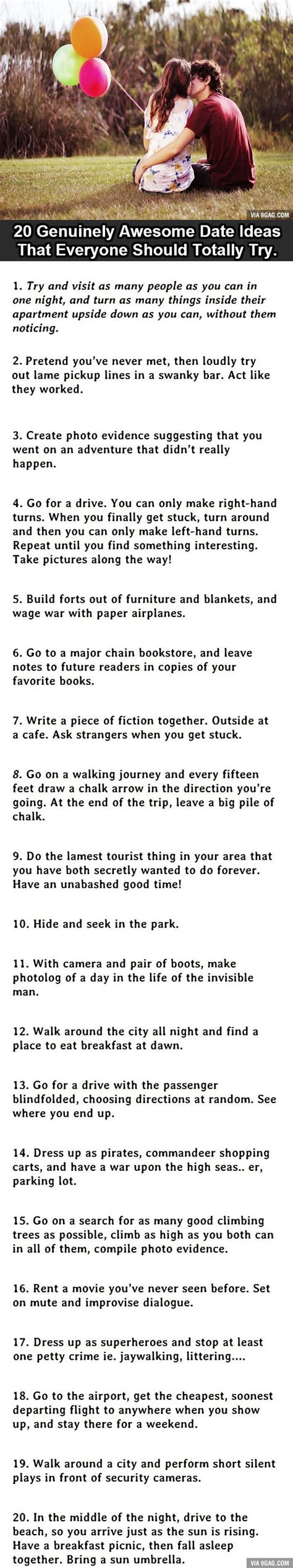 date ideas 20 uniquely awesome date ideas 6 would freak everybody