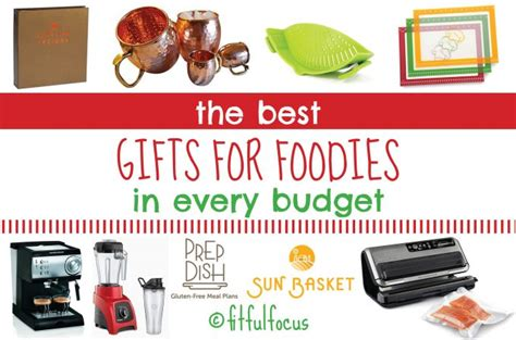 Haute Gift Guide For The Fashionable Foodie by The Best Gifts For Foodies In Every Budget Fitful Focus