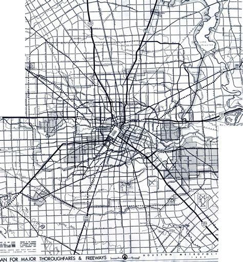 houston map black and white texasfreeway gt houston gt freeway planning maps
