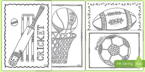 sports coloring sheets colouring mindfulness sports sheets sports