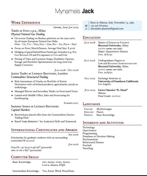 resume tips for freelancers and career