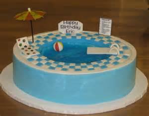Pool Cake Decorations by Pool Cake Decorations