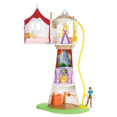 tower house dolls disney princess rapunzel s doll magic tower house flynn doll tangled play set ebay